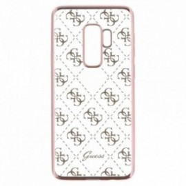 Coque Samsung S9 Plus G965 Guess 4G Rose or