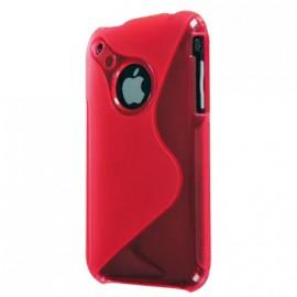 Coque iphone 3g 3gs Bi-Matière rose