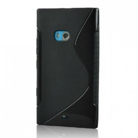 Coque Nokia Lumia 900 sline noire