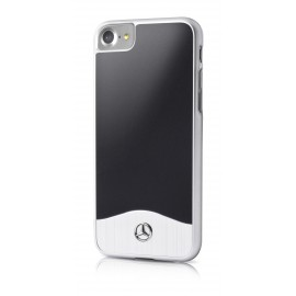 COQUE APPLE IPHONE 8 MERCEDES Brushed Aluminium
