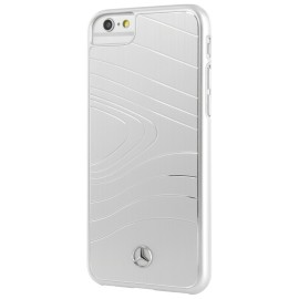 COQUE APPLE IPHONE 8 MERCEDES Organic III Brushed Aluminium