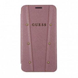 Etui Iphone 8 plus Folio Guess Kaia rose