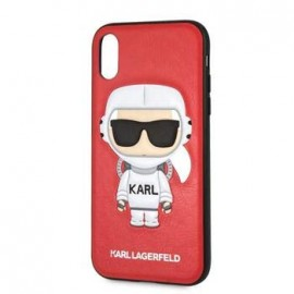 Coque Iphone XR 6,1'' Karl Lagerfeld Rouge