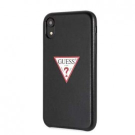 Coque iPhone XR 6,1 Guess triangle noire