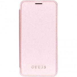 Etui Iphone XS MAX 6,5'' Folio Guess Iridescent rose