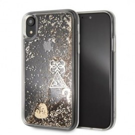 Coque pour Iphone X/XS Guess liquid glitter or