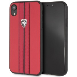 Coque iphone XR Ferrari Off Track Rouge