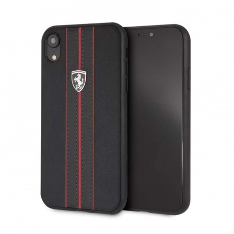 Coque iphone XR Ferrari Off Track Noir