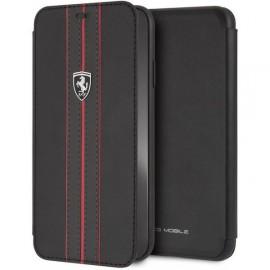 Etui iphone XS MAX Ferrari folio Urban collection noir