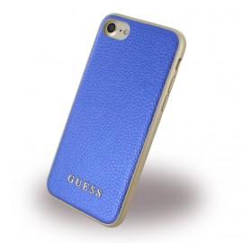 Coque iPhone 7 Guess bleu