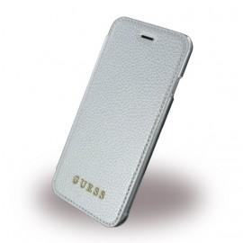 Etui iPhone 6 / 6s / 7 / 8 folio Guess gris
