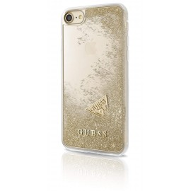 Coque iPhone 6 / 6S Guess Liquid Glitter Paillettes Or