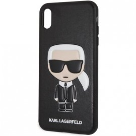 Coque Iphone Xs Max 6,5'' Karl Lagerfeld noire