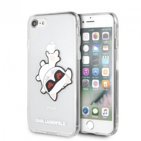 Coque Iphone 7 Karl Lagerfeld Fun Eaten Apple