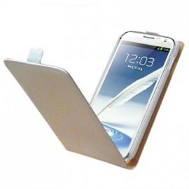 Etui Galaxy Note 2 Samsung N7100 Blanc