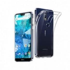Coque pour Nokia 7,1 silicone transparente