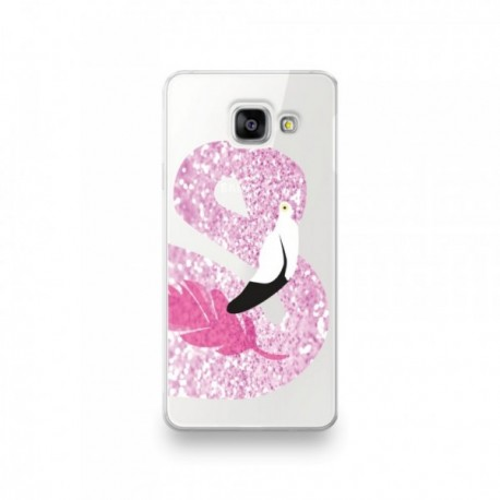 coque huawei p30 pro flamant rose