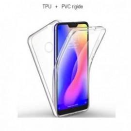 Coque Xiaomi MI 8 intégrale 360° PVC + coque souple