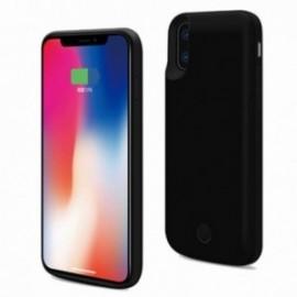 Coque Iphone Xs max 6,5 Rechargeable 6000mah noire