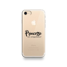 Coque iphone 6 / 6s princesse très tchatcheuse