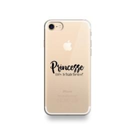 Coque iphone 8 princesse très tchatcheuse