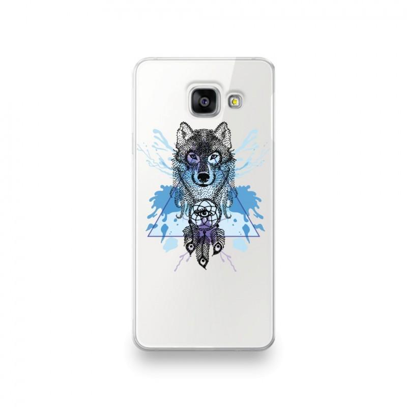 Coque pour Samsung Galaxy S10 motif Loup Attrape Reve