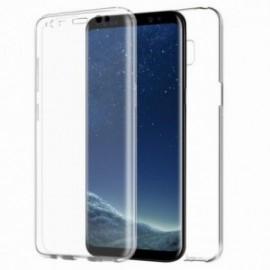 Coque pour Samsung S10 avant & arrière transparente
