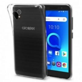 Coque pour Alcatel 1 silicone transparente