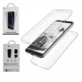 Protection complete 360 PVC rigide + TPU souple pour Samsung J4 PLUS
