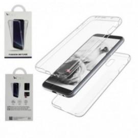 Protection complete 360 PVC rigide + TPU souple pour Samsung J6 PLUS