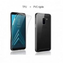 Protection complete 360 PVC rigide + TPU souple pour Samsung A5 2017