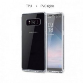 Protection complete 360 PVC rigide + TPU souple pour Samsung J4 2018