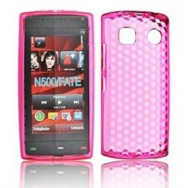 Coque Nokia 500 silicone rose