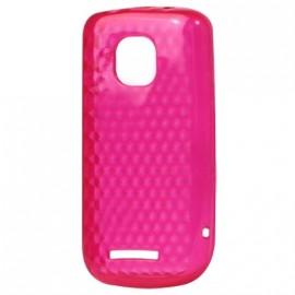 Coque Nokia asha 311 Rose Nid d'abeille
