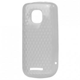 Coque Nokia asha 311 Transparente Nid d'abeille