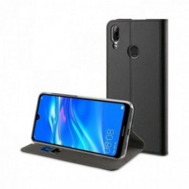 FOLIO STAND NOIR pour HUAWEI Y7 2019