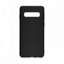 Coque pour Samsung S10 Plus soft touch noir