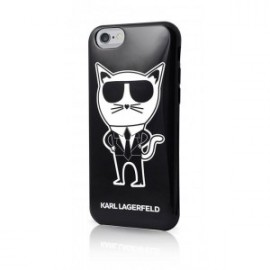 Coque pour iPhone 6/6S Karl Lagerfeld K-Team TPU Case noir