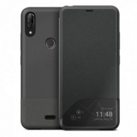 Wiko - Smart folio wiline night  GREY POUR VIEW 2 PLUS