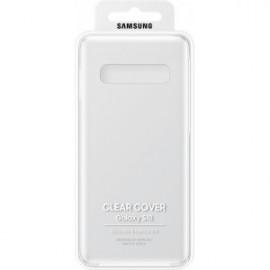 Coque rigide pour Galaxy S10 G973 Samsung EF-QG973CT transparente
