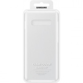 Coque rigide pour Galaxy S10+ G975 Samsung EF-QG975CT transparente