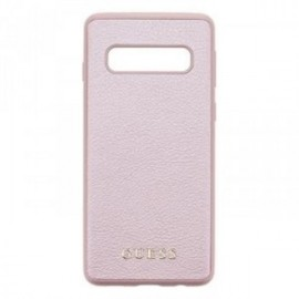 Coque pour Samsung S10 G973 Guess Iridescent rose / gold