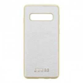 Coque pour Samsung S10 G973 Guess Iridescent gold
