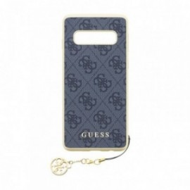 Coque pour Samsung S10 G973 Guess Charms 4G gris