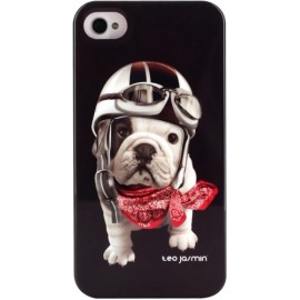 Coque iPhone 4 Teo Jasmin Racing noire
