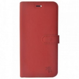 Étui Folio Trendy Rouge pour Apple iPhone 5/5S/SE