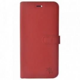 Étui Folio Trendy Rouge pour Apple iPhone X / XS