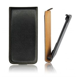 Etui iphone 4 slim cuir noir