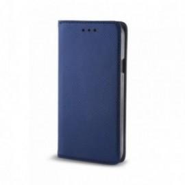 Etui pour Sony Xperia 10 Folio support vidéo bleu