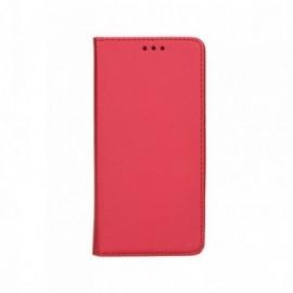Etui pour Sony Xperia 10 Folio support vidéo rouge